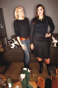 Heather and Margo Harrison