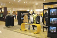 Videos help explain the Fit Logic sizing system to shoppers at Nordstrom.