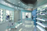 La Prairie's skin care center at Zurich airport.