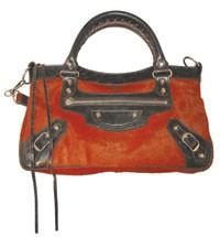 A Balenciaga bag.