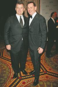 William Lauder and Bernd Beetz