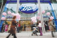 Boots is putting $432.8 million into its stores.