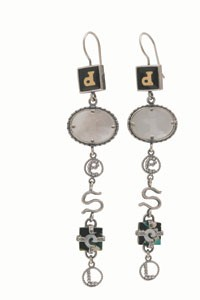 Diesel earrings.