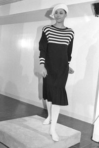 The Liz Claiborne fall 1985 show.