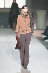 Despite delivery glitches for spring rtw, Hermès cited strong orders for the fall line, shown here.