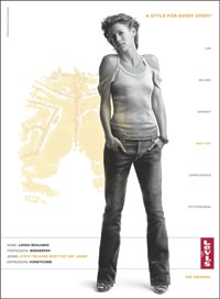 """Levi's """"Style for Every Story"""" campaign prompted positive feelings about the brand among women in 2005, yet purchases of Levi's women's apparel were flat in 2005 versus 2004. Beauty items are often a woman's first experience of the Chanel brand."""