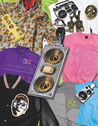 Here, clothing and jewelry from Kilo International of Brooklyn, an Almost Girl favorite.