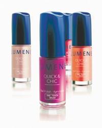 Lumene's Quick & Chic nail polish.