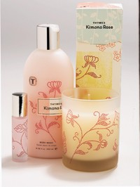 Select products from the Kimono Rose collection.