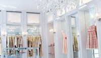 Inside the renovated Luisa Beccaria shop.