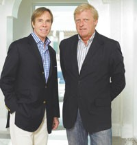 Tommy Hilfiger and Fred Gehring