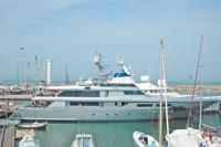 Stefano Gabbana's new yacht.