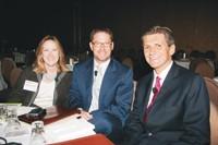 Deborah Wahl Meyer, Marc Lefar and Marc Pritchard.
