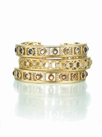 Judith Ripka bracelets.