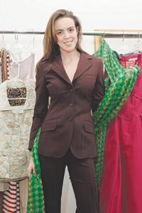 Neva Lindner, owner of Wardrobe NYC.