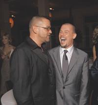 Simon Ungless and Alexander McQueen