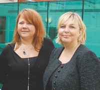 Suki Larson, chief executive of Provenance, and Jane Boardman, chairman of Provenance.