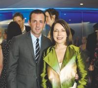Jeffrey Kalinsky and Paula Wallace
