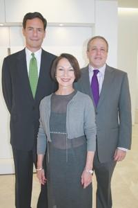 Charles Komar, Donna Nadeau and David Komar.