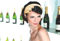 Temperley London's limited-edition tiara for Moët & Chandon.