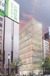 Renderings of the forthcoming Ginza and Landmark stores.
