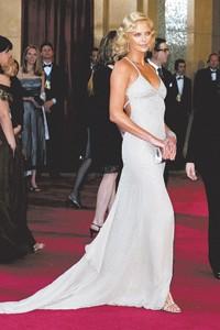Charlize Theron, 2004 Oscars.