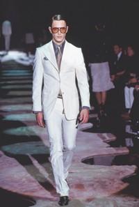 Tom Ford's fall 2004 men's wear.