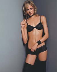 Black Lycra, introduced last fall, reduces shine and fading and is being used for innerwear and swimwear.