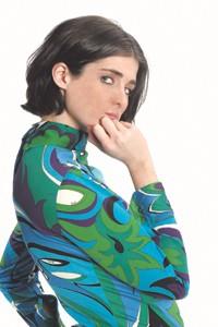An Emilio Pucci-designed uniform for Braniff International.