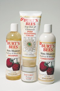 Some of Burt's Bees' latest items.