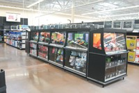 A display for iPods and other electronics.