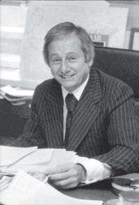 Joseph Augeri at Lancýme in 1981.