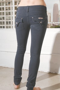 Hudson Jeans' Jersey Girl jeans-styled leggings.