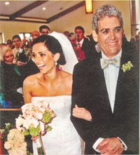 Steve Florio, with daughter Kelly on her wedding day.