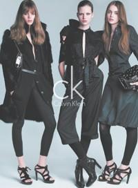 An ad from Calvin Klein Inc.
