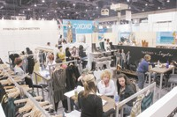 French Connection's booth at WWDMagic.