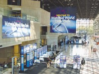 Material World will take place Sept. 26-28 at the Javits Center.