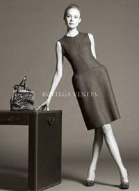 Images from the Bottega Veneta and Miu Miu ad campaigns.
