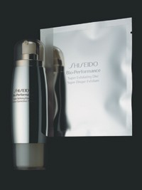 Shiseido's newest skin care products.