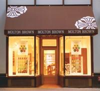 Molton Brown's Madison Avenue flagship.