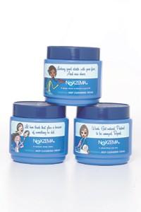 Limited-edition Noxzema jars.