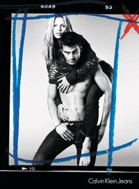 Images from the fall Calvin Klein Jeans campaign.