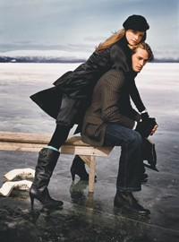 A look from Tommy Hilfiger's fall-winter ad campaign.
