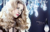 Parfums Givenchy's Ange Ou Demon visual featuring Marie Steiss.