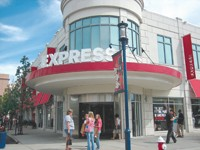 Limited Brands, parent of Express, had a significant gross margin increase in the first quarter.