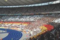 Berlin's Olympic Stadium.
