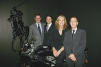 Ed Fox, Serge Jureidini, Signe Gammeltoft and Richard Pinabel.