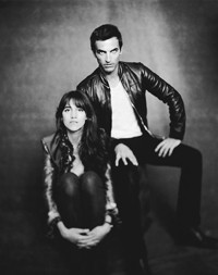 Nicolas Ghesquiýre and Charlotte Gainsbourg