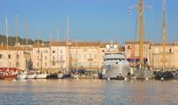 Saint-Tropez's mythical port.