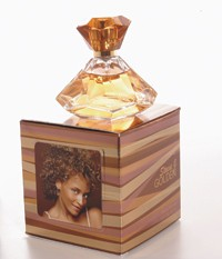 Stacie J's new fragrance, Stacie J Golden.